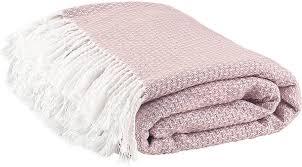 <b>Плед</b> розовый, 200х150 см, Хлопок, Акрил - купить в интернет ...