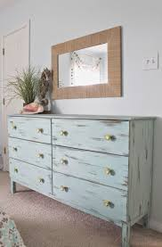 Ikea bedroom furniture dressers Grey Bedroom Beach Themed Bedroom Aqua Painted Unfinished Dresser From Ikea Distressed Finish Paired With Custom Yellow Knobs Theraggedwrenblogspotcom Pinterest Beach Themed Bedroom Aqua Painted Unfinished Dresser From Ikea