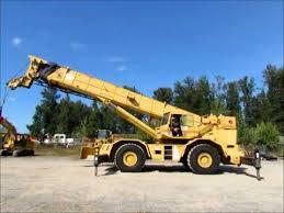 Sold Grove Rt875 75 Ton Rough Terrain Hydraulic Crane 114 Bidadoo Com