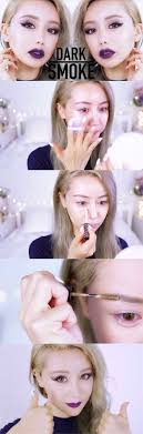 makeup tips for asian women beginners dark lip smokey makeup tutorial for asian hooded eyes