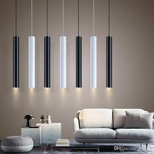 led modern pendant lights long black pendant lamp island bar counte room kitchen light fixtures hanglamp luminaire pendant lamps kitchen island
