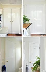 plain white interior doors. The Painted Hive How To Add Trim Plain Doors Complete Door Tutorial White . Interior