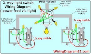 3 way switch wiring diagram house electrical wiring diagram how to wire two separate switches & lights using the same power source at Wiring A Switch