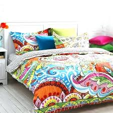 colorful duvet covers queen gorgeous ideas colorful duvet covers king bohemian exotic bedding modern cover queen
