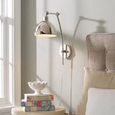 bedroom sconces lighting. young house love dapper adjustable arm wall sconce bedroom sconces lighting