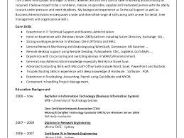 100 Resume For Network Engineer Support Engineer Cover