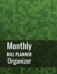 Monthly Bill Planner Organizer With Calendar 2018 2019 Weekly Planner Bill Planning Financial Planning Journal Expense Tracker Bill Organizer