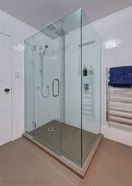 frameless glass shower door corner square shower