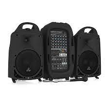 Behringer PPA2000BT 2000 Watt 8 Kanal Taşınabilir Ses Sistemi Fiyatı ve  Özellikleri