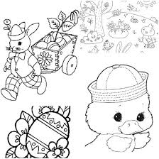 Small Picture 27 Kids Easter Games Coloring Sheets and Printables Tip Junkie