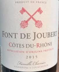 Rhone Size Chart Cellier Des Princes Cotes Du Rhone Font De Joubert France