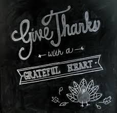 Chalkboard Thanksgiving Chalkboard The Lilypad Cottage