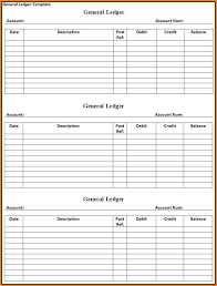 accounting ledger template accounting ledgers templates access templates for small business
