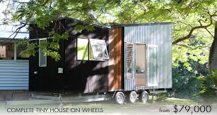 complete tiny house on wheels