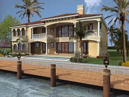 beachfront home plans