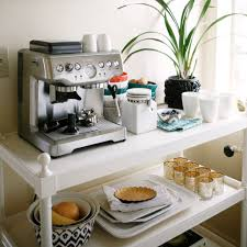 Kitchen Coffee Station Coffee And Tea Cart Styling Popsugar Home