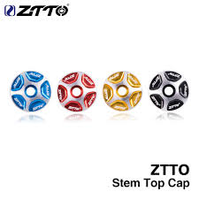 <b>ZTTO MTB Bicycle Headset</b> stem Top Cover Cap fork 1 1/8 ...