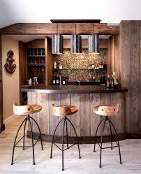 beach bar ideas beach cottage. Extraordinary Basement Bar Reclaimed Wood Ideas Rustic Home Beach Style With Glass Tile Cottage T