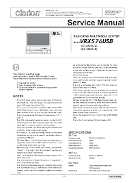 clarion vrx575usb wiring diagram clarion wiring diagrams