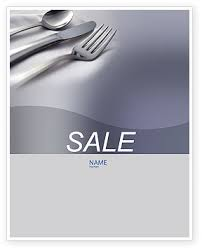 Dinner Sale Poster Template In Microsoft Word Publisher And