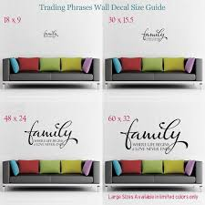 Wall Decal Size Chart Decal Size Guide Decals Vinyl Wall Decals Wall Decals