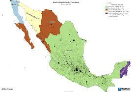 Mexico Population by Time Zone https ...