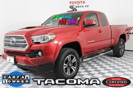 Certified Pre-Owned 2016 Toyota Tacoma TRD Sport in Santa Fe ...