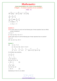 ncert solutions for class 10 maths chapter 3 exercise 5 study pair of linear equations in two variables class 10 part 56 70 unit 3 extra questions