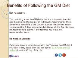 Gm Diet Plan Fastest Vegetarian Diet To Lose Weight In 7 Days