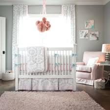 pink elephant crib bedding and white gray set boutique 13pcs sets