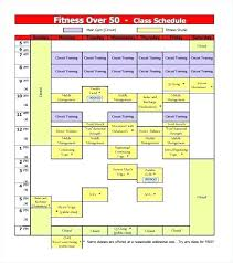 Class Schedule Excel Template Download Training Timetable Template Flybymedia Co