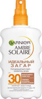 Garnier <b>Водостойкий Солнцезащитный спрей</b>-проявитель загара ...
