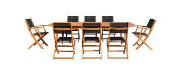 Ensemble table et chaise de jardin - Oviala