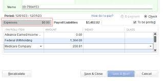 Solved Qb Desktop Payroll Dd Reclass Quickbooks Community