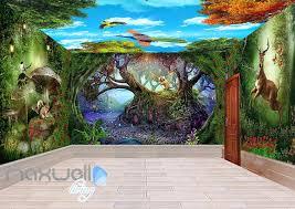 11 cute fairy wall murals and fairy wall decals for girls fairy forest wall murals fairy tail wall mural disney fairies uk custom photo mural 3d wallpaper