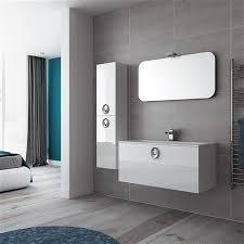 gloss gloss modular bathroom furniture collection. Adriatic White Gloss Modular Bathroom Furniture Collection
