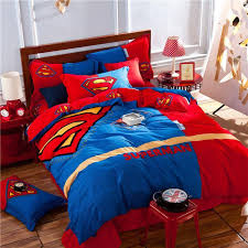 33 stylish design ideas king size superman bedding 54 kids queen sets new set twin full red blue doona