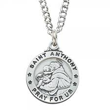 st anthony medal silver