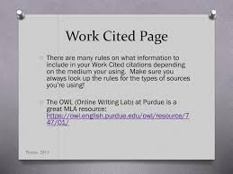 How To Make Work Cited Page Ppt What Do You Mean I Have To Cite My Sources Powerpoint