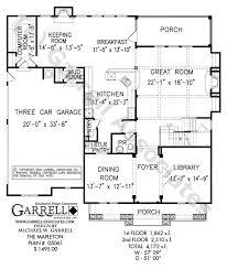 mapleton house plan 05061 1st floor plan