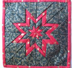 Vicki's Fabric Creations: Folded Star Mat-Tutorial Uploaded & Folded Star Mat-Tutorial Uploaded Adamdwight.com