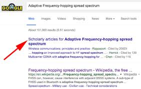 Google Scholarly Articles Results Dont Need Schema Markup