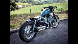 yamaha virago bobber build youtube