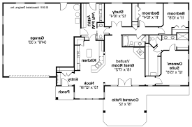 Top Floor Plan For Ranch Style Home Decorating Ideas Contemporary