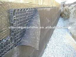plastic retaining wall plastic drain cell for retaining wall drain garden interlocking plastic on