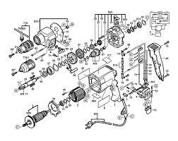 Bosch gsb20 2re 0601194778 parts schematic