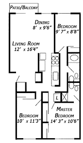 3 bedroom floor plans with dimensions. Beautiful Bedroom 3 Bedroom Floor Plan All Dimensions Are Approximate Intended Plans With