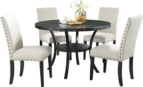 wayfair round dining table dining table and chairs multi colored set blue round with with round wayfair round dining table