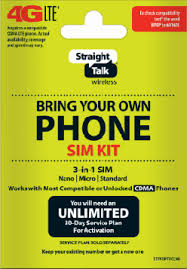 Bring Your Own Phone Sim Kit Verizon
