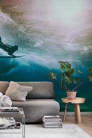 duckdive surfer wall mural from